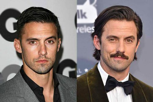 Shocking Makeovers With Facial Hair Styles Transformation (Celebrity Edition)