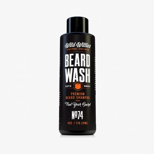 Beard Wash Premium Beard Shampoo (Wild Willies) #beardshampoo