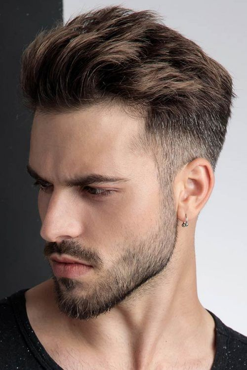 Brush Up Taper #menshairstyles #hairstylesformen