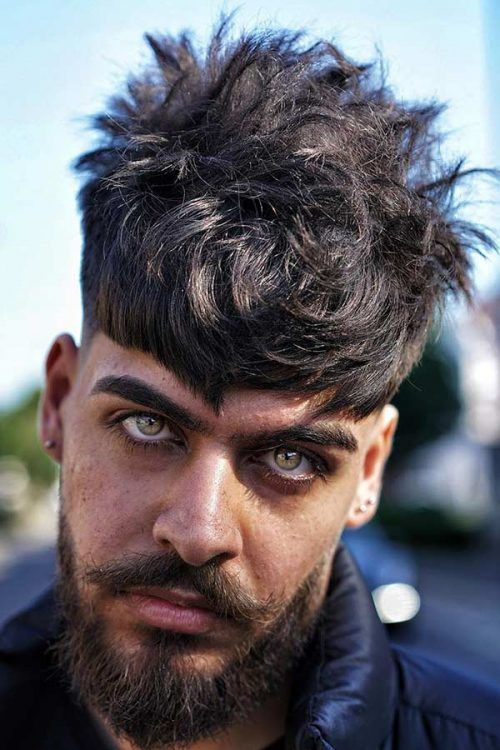 Messy Tapered Hairstyle #menshairstyles #hairstylesformen