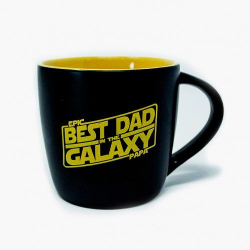 Best Dad In The Galaxy Star Wars Mens Coffee Mug (Le Rage Shirts)  #fathersdaygifts #lifestyle