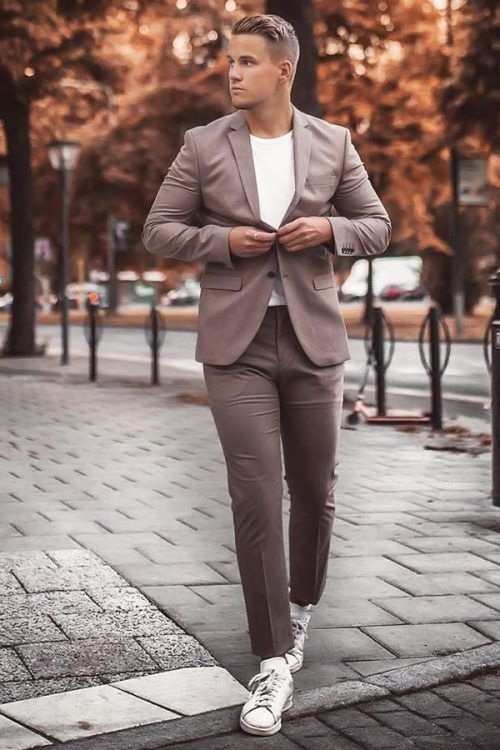 Business Casual Men's Outfits Grey Cell #businnescasual #manoutfit