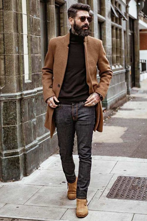 Business Casual Men's Outfits Black Jeans #businnescasual #manoutfit