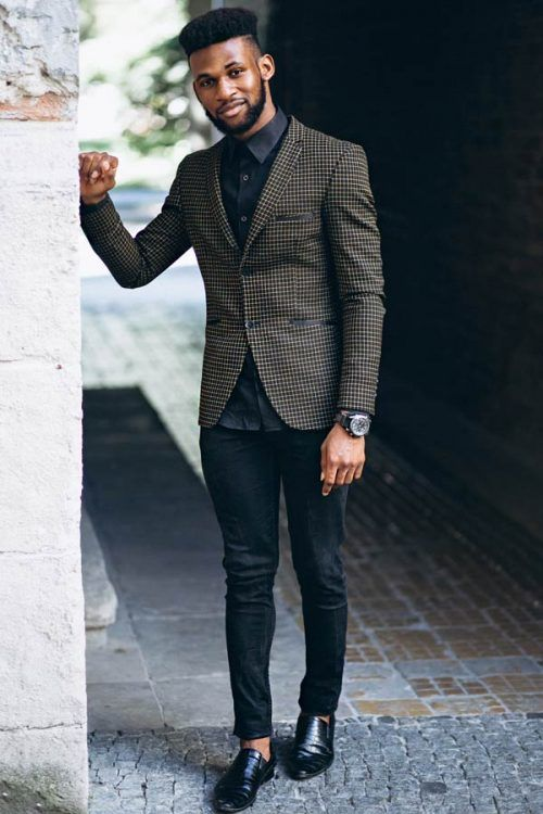 Stylish Business Casual Men's Outfits #businnescasual #manoutfit