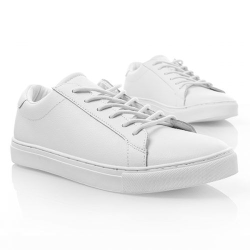 Minimalist Sneakers & How To Wear Them #businesscasualshoes