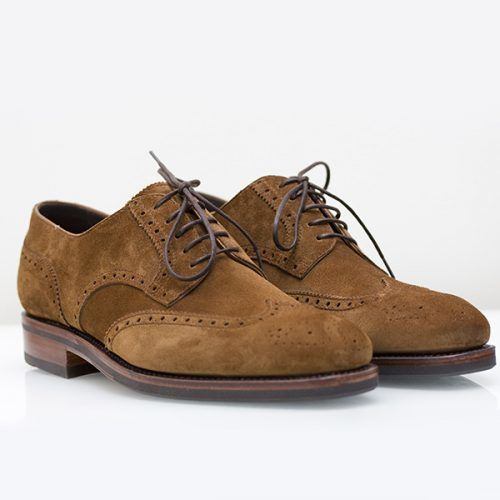 Contrast Sole Brogues & How To Wear Them #businesscasualshoes