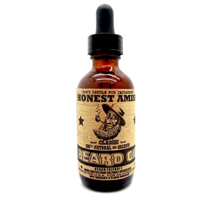 Honest Amish Classic Beard Oil #beard #beardoil #beardbalm