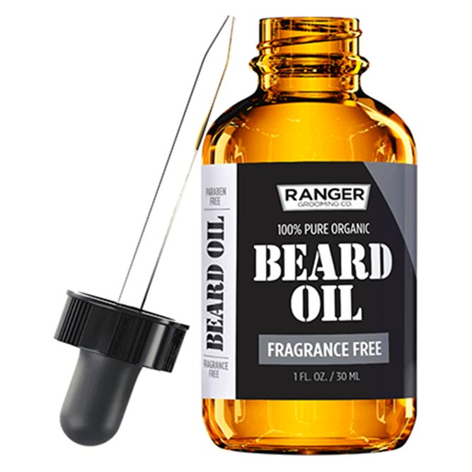 Ranger Grooming Co. Fragrance Free Oil #beard #beardoil #beardbalm