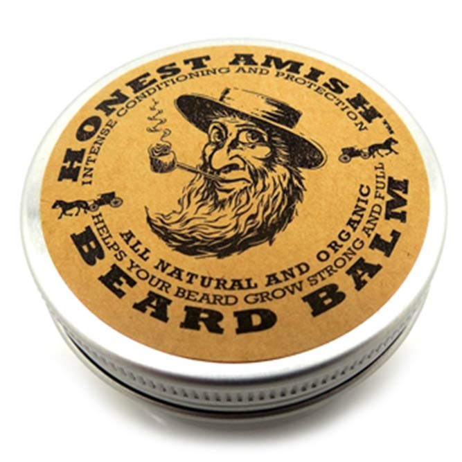 Honest Amish Beard Balm Leave-In Conditioner #beard #beardoil #beardbalm