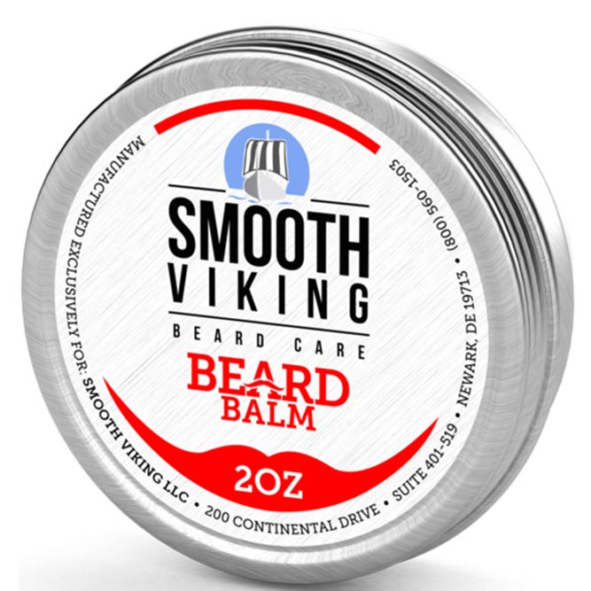 Smooth Viking Beard Care Beard Balm #beard #beardoil #beardbalm