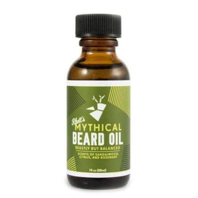 Mythical Beard Oil: All-Natural Formula (Rhett's) #straightbeard