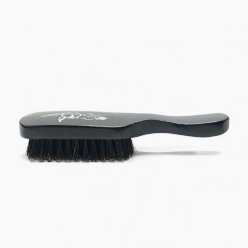 Black Series Beard Brush With Handle (Badass Beard Care) #beardbrush #lifestyle