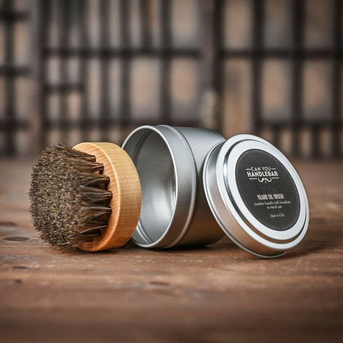 Beard Oil Brush (Can You Handlebar) #beardbrush #lifestyle