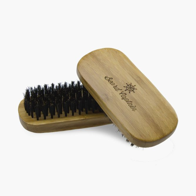 Boar Bristle Base Beard Brush (Beard Captain) #beardbrush #lifestyle