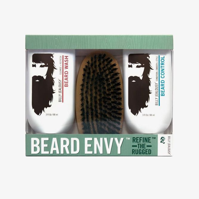Beard Envy Beard Refining Kit (Billy Jealousy) #beardbrush #lifestyle