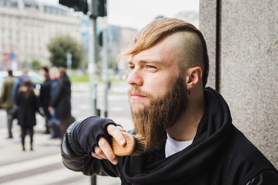 What It The Right Way To Brush The Beard #beardbrush #lifestyle