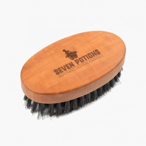 Beard Brush For Men With 100% First Cut Boar Bristles (Seven Potions) #beardbrush #lifestyle