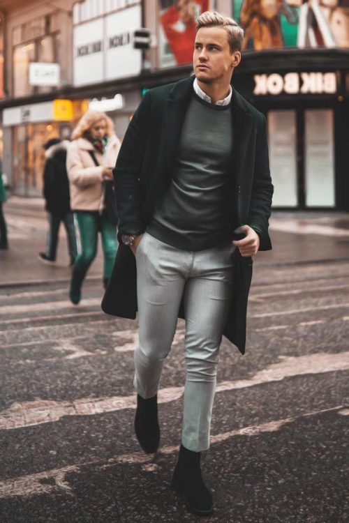 Semi-Formal Outfit #chelseaboots #manoutfits