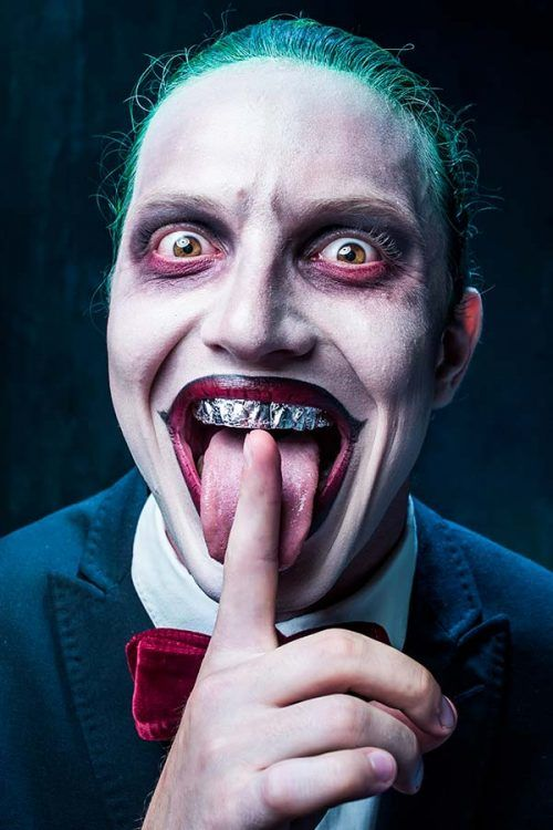 The Collection Of The Trendiest Halloween Makeup Looks For Men
