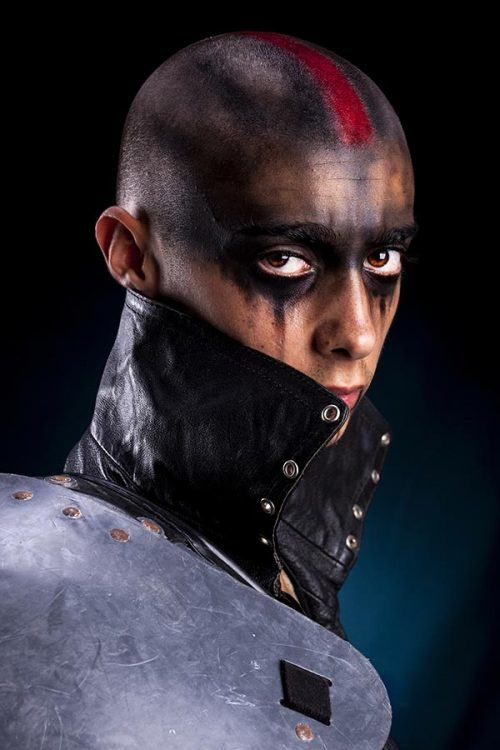 Post Apocalyptic Urban Warrior #halloween #halloweenmakeup #halloweenmakeupmen
