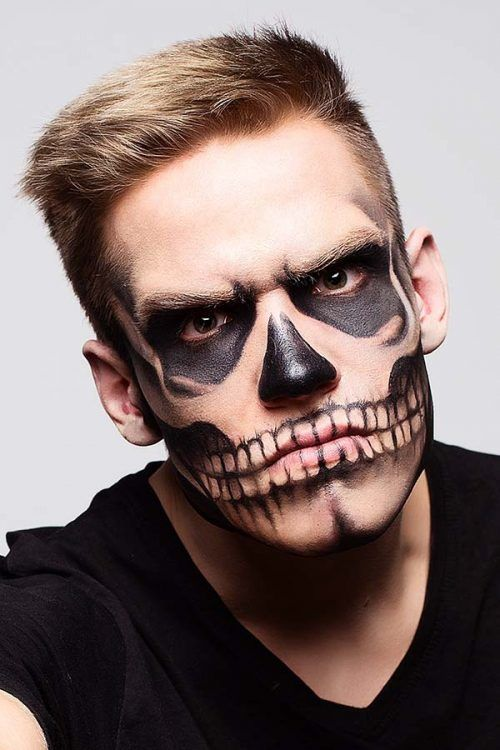 Halloween Looks For Guys.The Collection Of The Trendiest Halloween Makeup Looks For Men