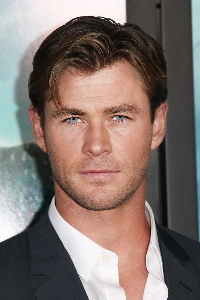 Chris Hemsworth Curtains Haircut #thorragnarokhaircut #chrishemsworth #thor #thorhair