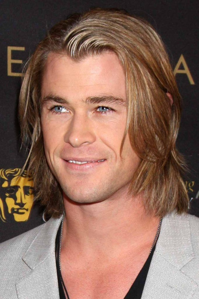 Thor Long Hair #thorragnarokhaircut #chrishemsworth #thor #thorhair