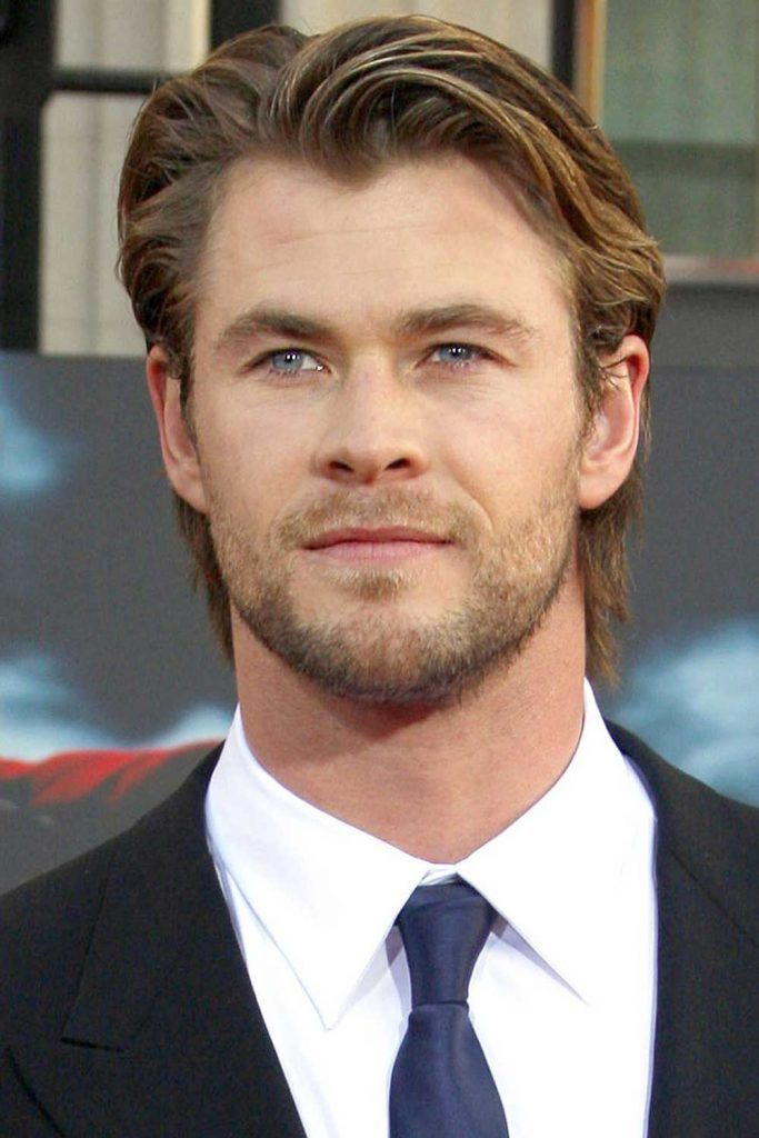 Side Part Chris Hemsworth Haircut #thorragnarokhaircut #chrishemsworth #thor #thorhair