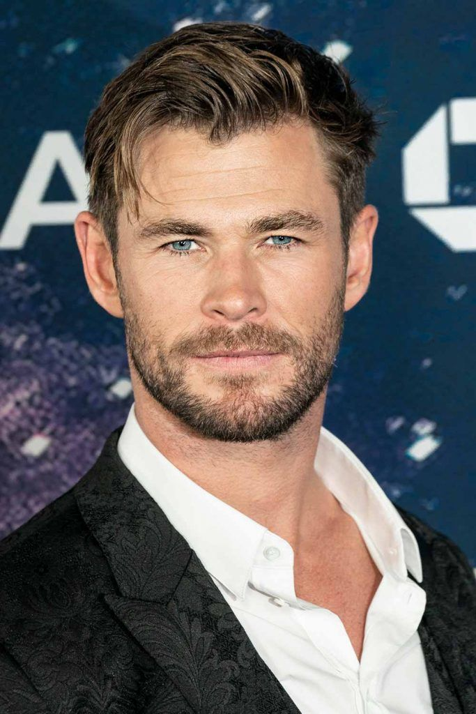Messy Undercut Thor's Hair #thorragnarokhaircut #chrishemsworth #thor #thorhair