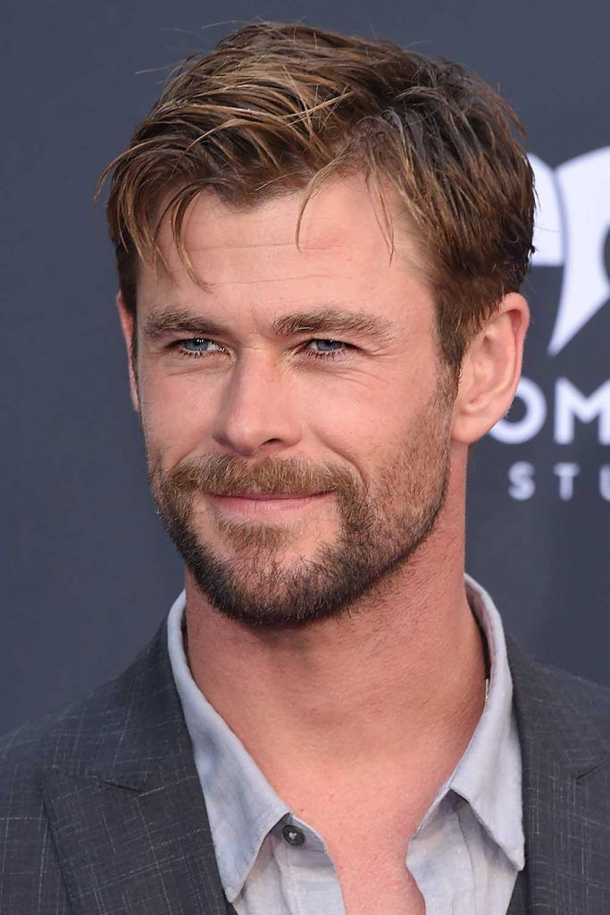 Short Sides Long Top #thorragnarokhaircut #chrishemsworth #thor #thorhair