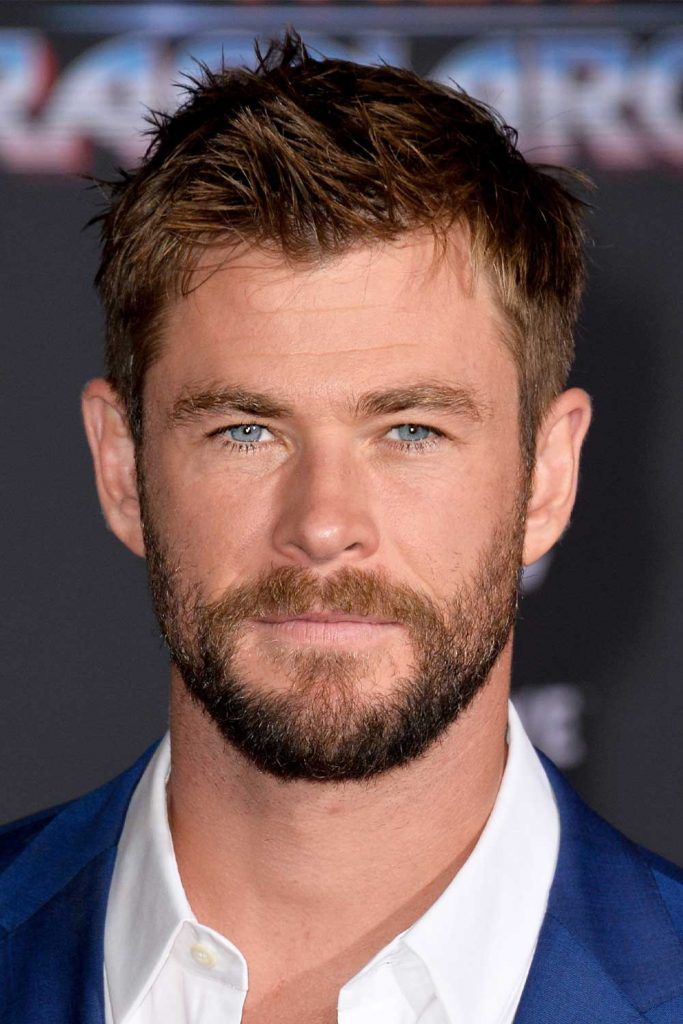 Short Hair Thor #thorragnarokhaircut #chrishemsworth #thor #thorhair