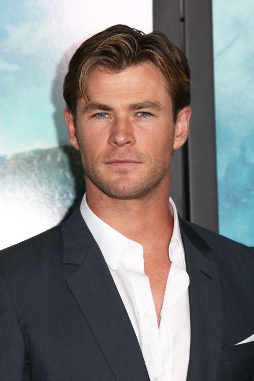 Medium Length Hairstyle #thorragnarokhaircut #haircuts #chrishemsworth