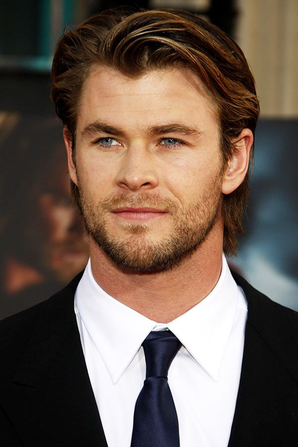 Medium Side Swept #thorragnarokhaircut #haircuts #chrishemsworth