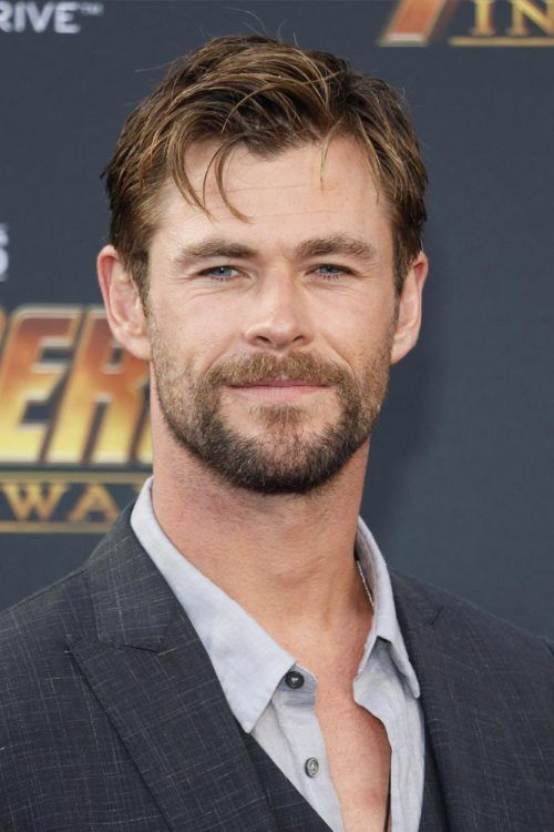 Side Part Messy Hairstyle #thorragnarokhaircut #haircuts #chrishemsworth