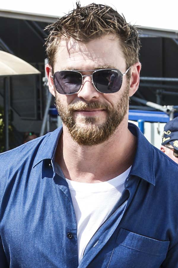 Spiky Short Cut #thorragnarokhaircut #haircuts #chrishemsworth