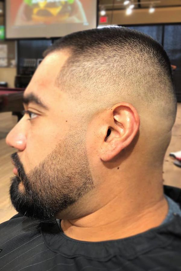 Bald Fade With Beard #fadedbeard #beardfade