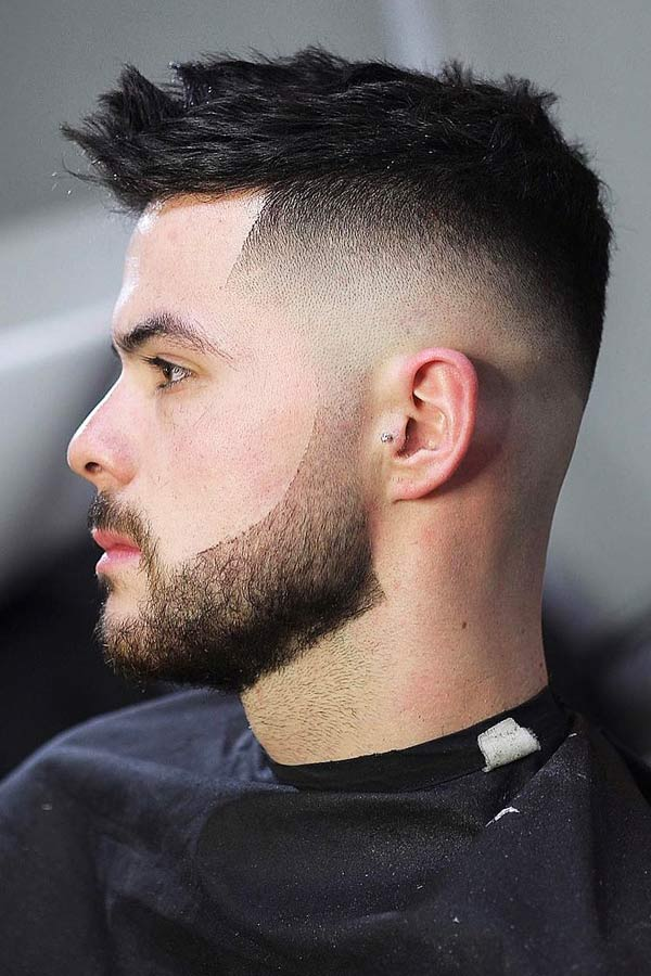 Edged Light Beard Fade #fadedbeard #beardfade