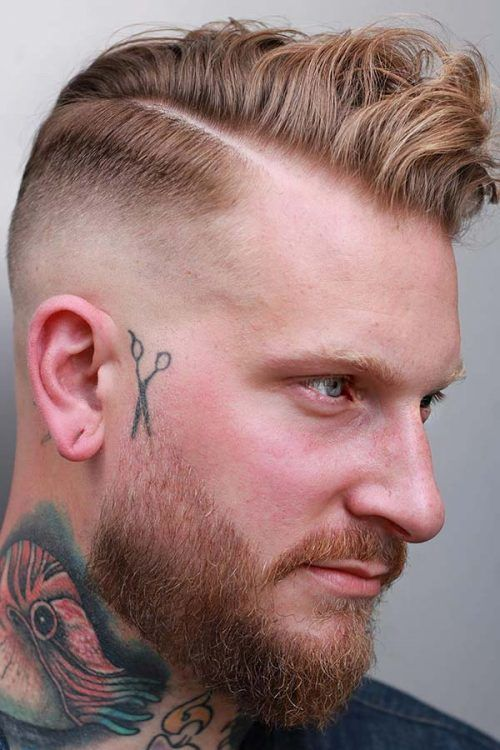 Mid-Length Faded Beard #beard #fadedbeard #beardfade