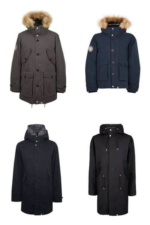 Pretty Green #parka #parkajacket