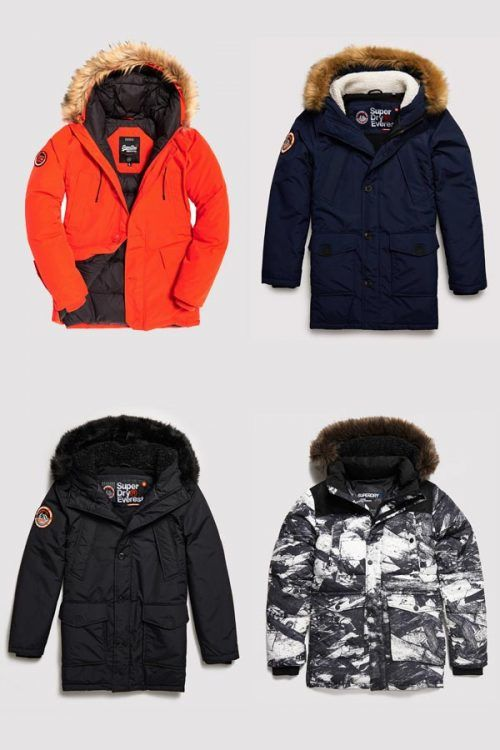 Superdry #parka #parkajacket