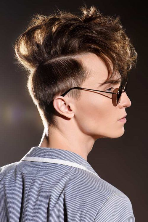 Faux Hawk Fringe #fringehaircut #fringebangs #haircuts