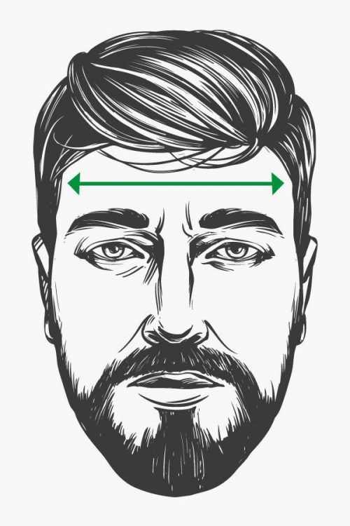 Measure Your Forehead #faceshapes