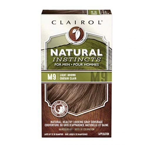 Clairol Natural Instincts Semi-Permanent Hair Color Kit For Men #menshairdye #dyehairmen