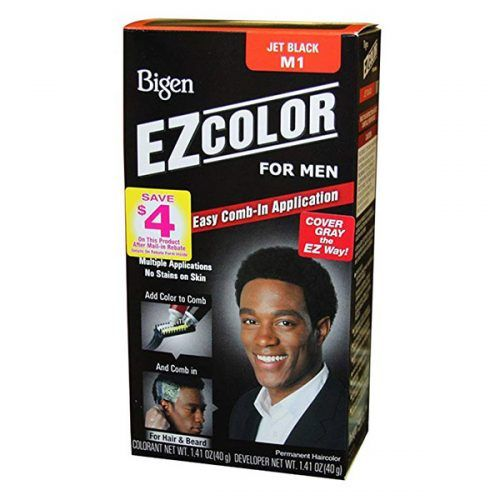 Bigen Ez Color Hair Color For Men – Jet Black #menshairdye #dyehairmen