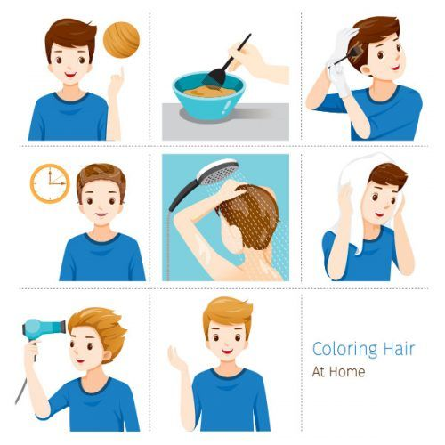 How To Apply Hair Dye For Men #menshairdye #dyehairmen