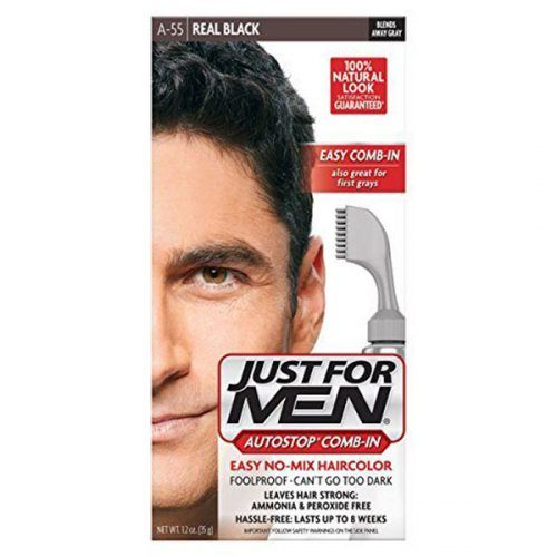 Just For Men Autostop Men's Comb-In Hair Color #menshairdye #dyehairmen
