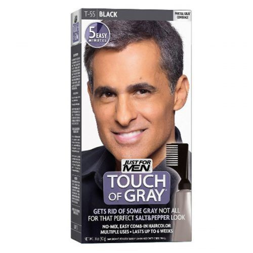 Just For Men Touch Of Gray Comb-In Men's Hair Color #menshairdye #dyehairmen