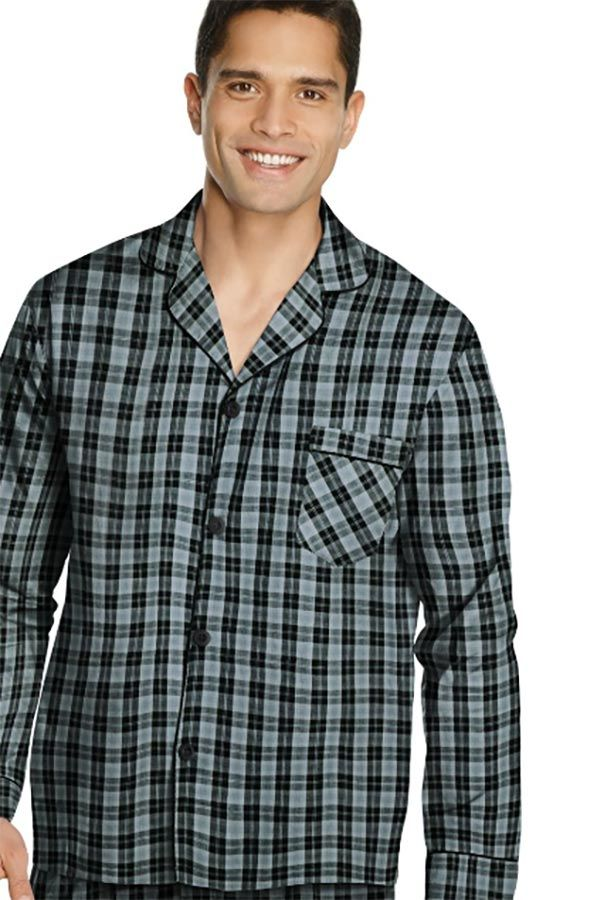 Men's Flannel Pajama Set #giftsformen #mensgifts