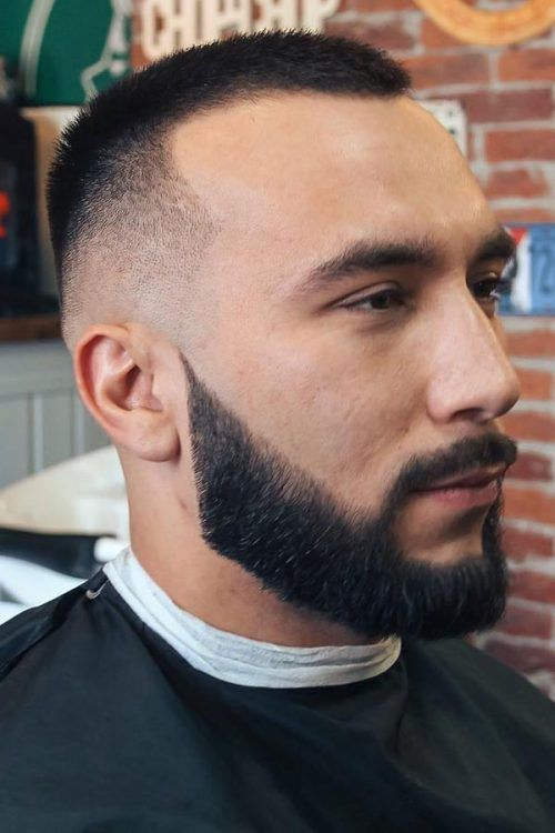 The Connoisseur's Buzz Cut #thickhairmen