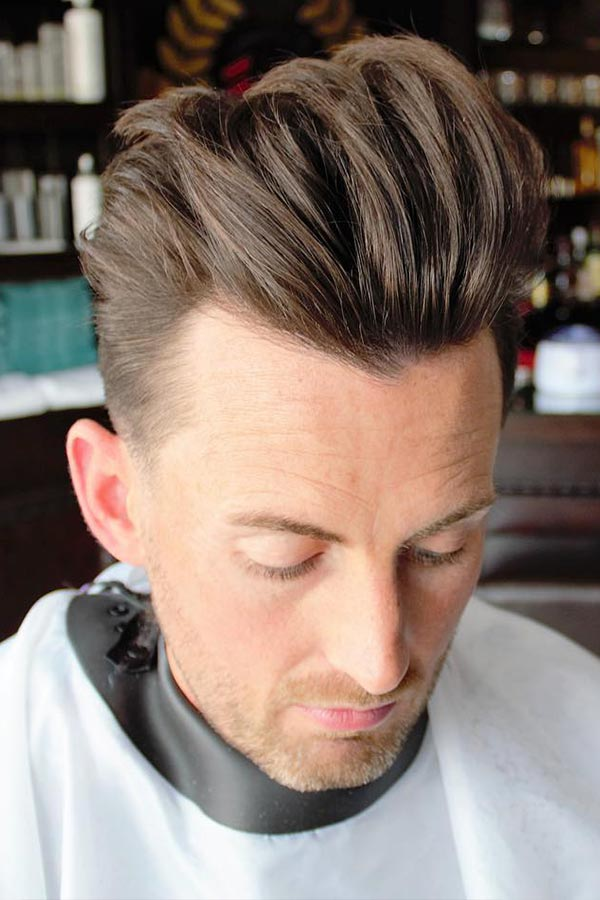 The Undercut Quiff #thickhairmen